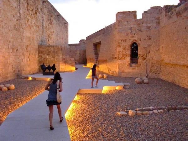 Interior del Castillo de Zamora