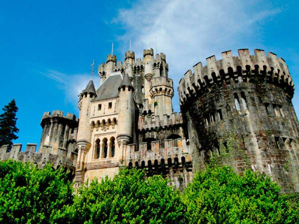 Castillos de Bizkaia