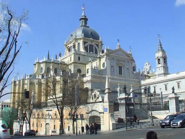 La Catedral de la Almudena, en Madrid