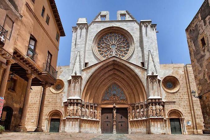 La catedral gótica de Tarragona