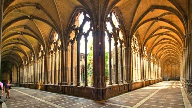 La Catedral de Santa María La Real, en Pamplona