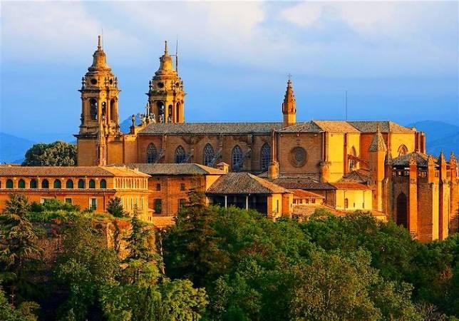 Catedral de Santa María la Real, en Pamplona