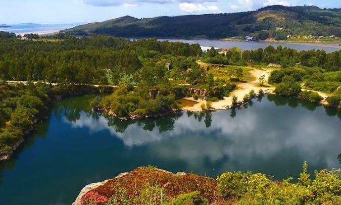 Lagoa Das Pedras Miudas, en Catoira