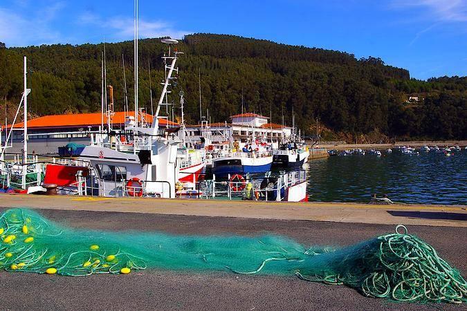 Puerto de Cedeira, en A Coruña