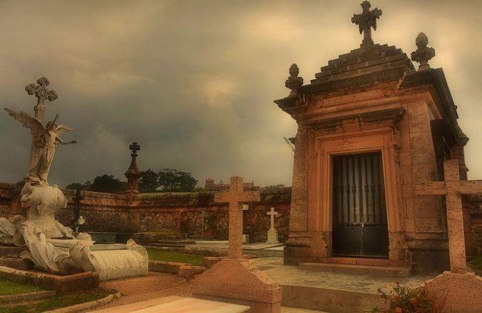 Cementerio de Comillas, en Cantabria