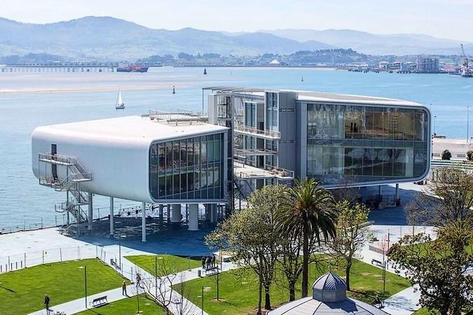 Centro Botín, en Santander