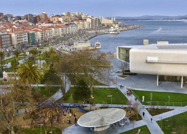 Centro Botín, en la ciudad de Santander