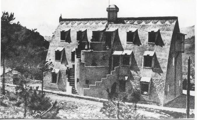 El Chalet Catllaràs en 1902