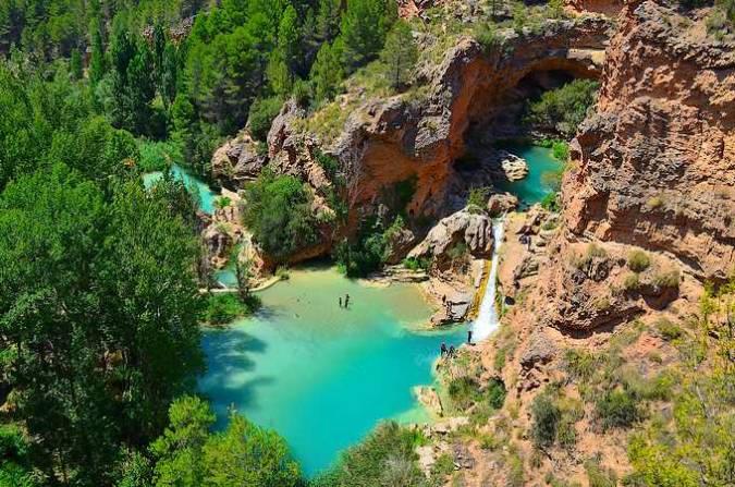 Las Chorreras del río Cabriel, en Cuenca