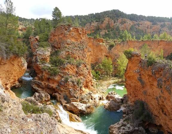 Monumento Natural de las Chorreras del Cabriel, en Cuenca