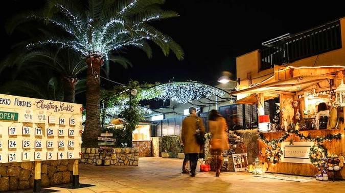 Christmas Market de Puerto Portals, en Mallorca