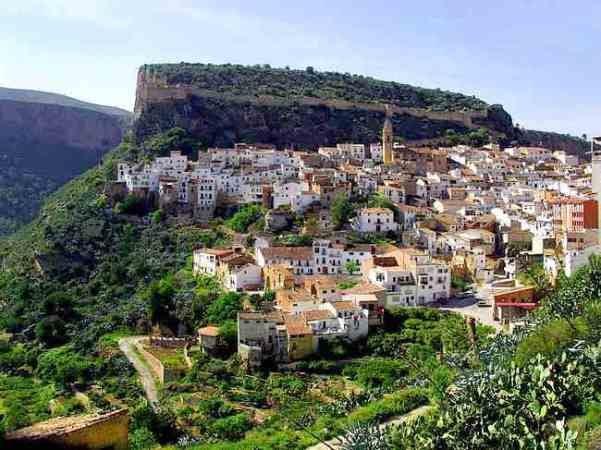 El pueblo de Chulilla, en Valencia