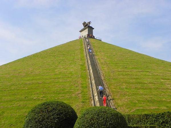 La histórica ciudad belga de Waterloo