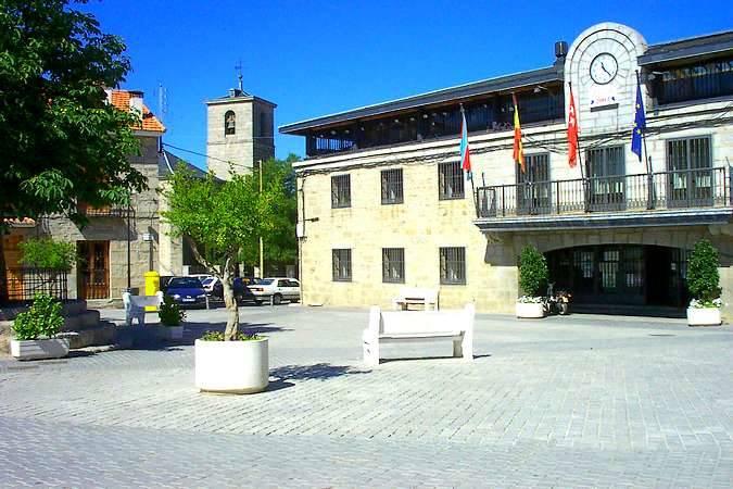 La villa madrileña de Colmenarejo