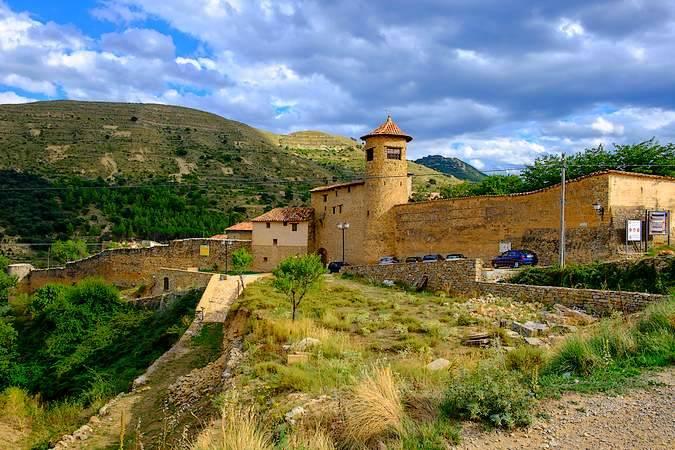 Mirambel, en la Comarca del Maestrazgo, Teruel