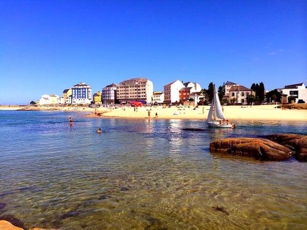 Playas y buen marisco en Cervo, Lugo