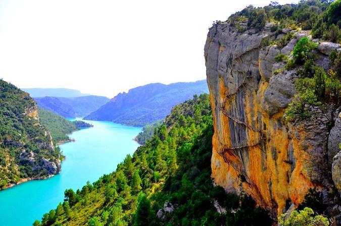 El Congost de Mont-Rebei, entre Lleida y Huesca
