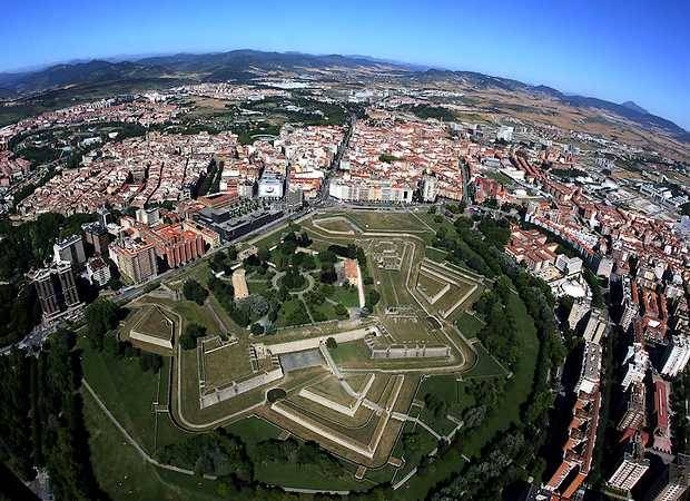Conociendo la ciudad de Pamplona, en Navarra