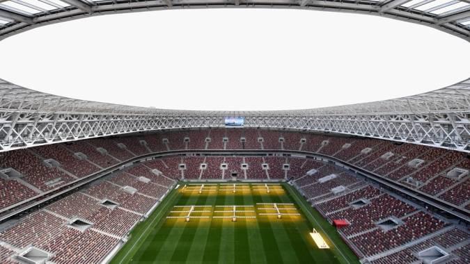 Estadio Luzhnikí, en Moscú