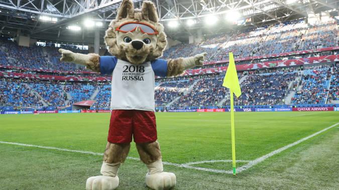 Zabivaka es la mascota del Mundial Rusia 2018