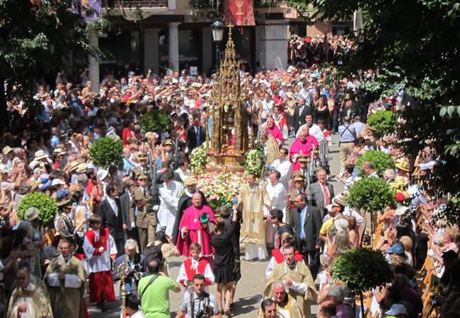 Disfruta del Corpus Christi en Toledo