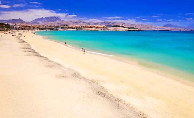 Playa de Costa Calma, en Fuerteventura