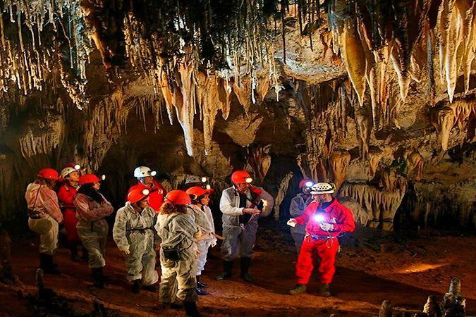 Recorrido Aventura en la Cueva de El Soplao, en Cantabria