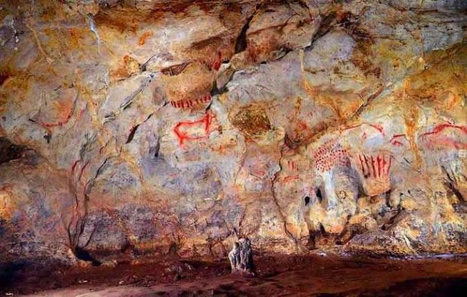 Cueva del Pindal, en Asturias