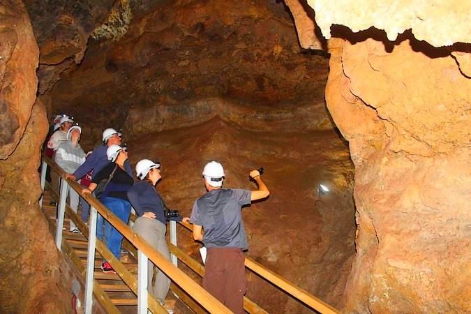 Cueva del Yeso, en Baena, Córdoba