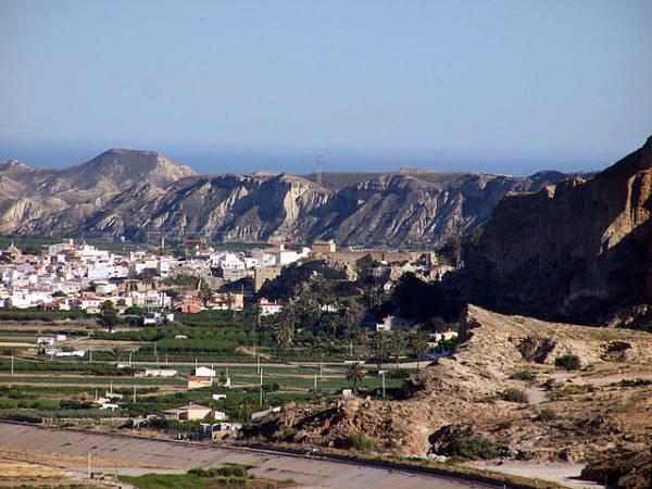 Cuevas de Almanzora, en la provincia andaluza de Almeria