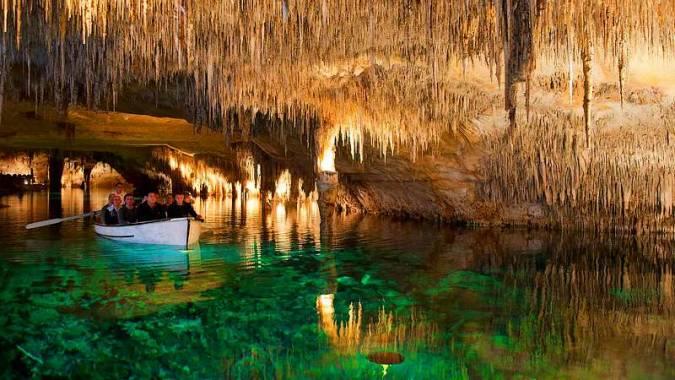 Cuevas del Drach, en Porto Cristo, Mallorca