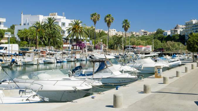 Porto Cristo, en Mallorca. Islas Baleares