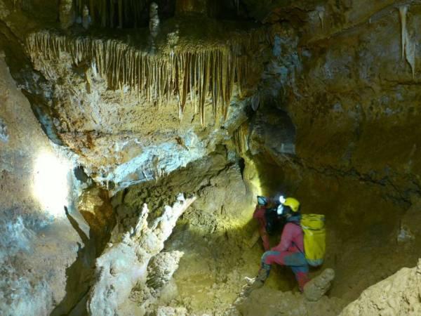 La sima CJ-3 es una cueva de Soria que se ha quedado sin oxígeno