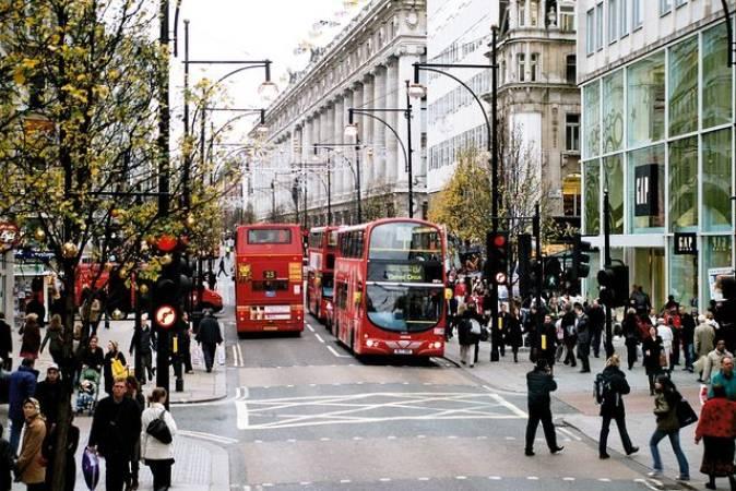 De compras en Londres por Oxford Street
