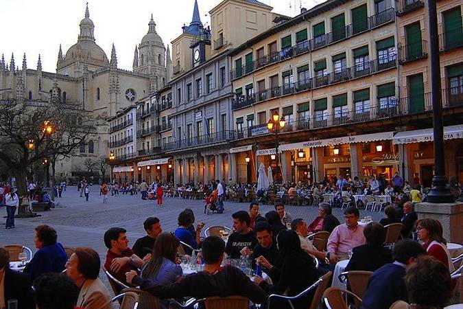 De tapas por la ciudad de Segovia