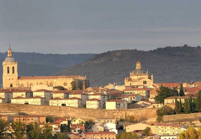 Panorámica de Ciudad Rodrigo