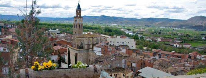 La ciudad de Fraga, en Huesca, Aragón