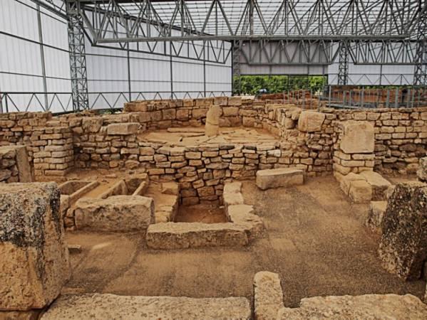 Yacimiento Arqueológico Villa Fortunatus, en Fraga