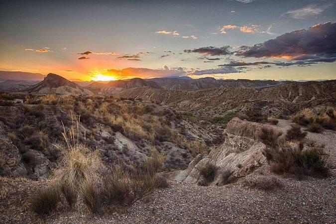 El Desierto de Tabernas, en Almería