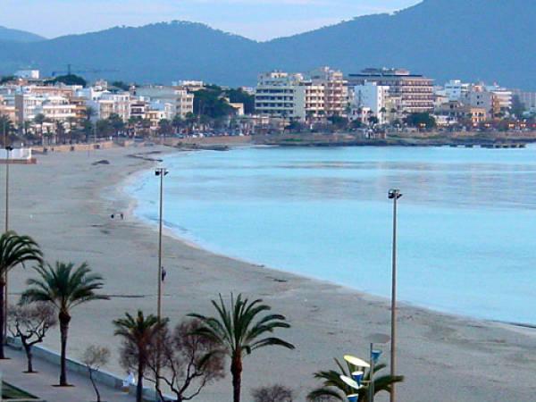 Playa de Cala Millor, en Mallorca