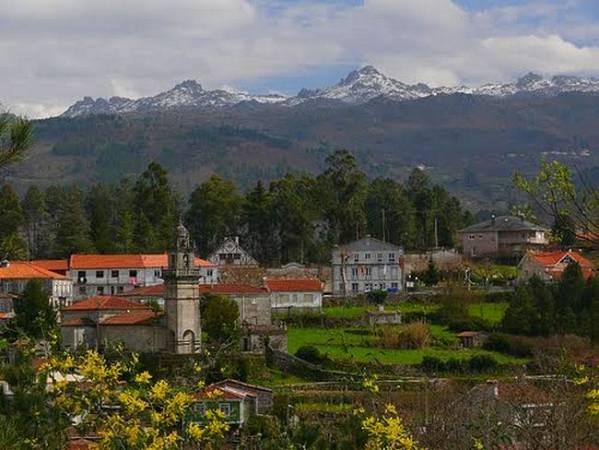 La villa gallega de Lobios, en Ourense