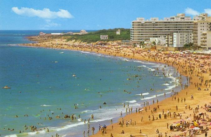 Playa en Rota, Cádiz