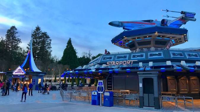 Star Tour en Disneyland Paris