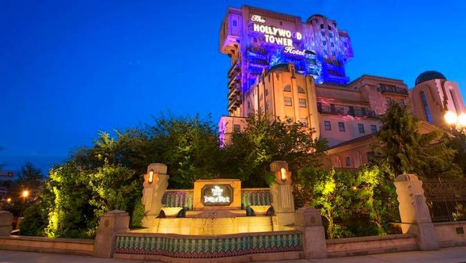 The Twilight Zone Tower of Terror en Disneyland Paris