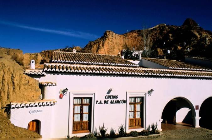 Dormir en una cueva en Guadix, Granada