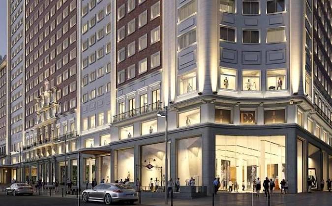 El madrileño Edificio España albergará un hotel de lujo