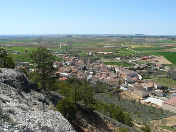 El castellano pueblo de Gumiel de Mercado, en Burgos
