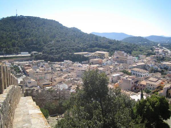 El centro turístico de Capdepera, en Mallorca