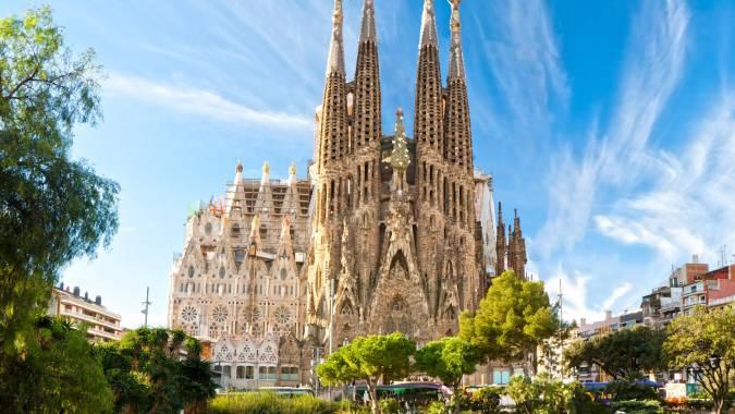 Sagrada Familia, en el Eixample de Barcelona