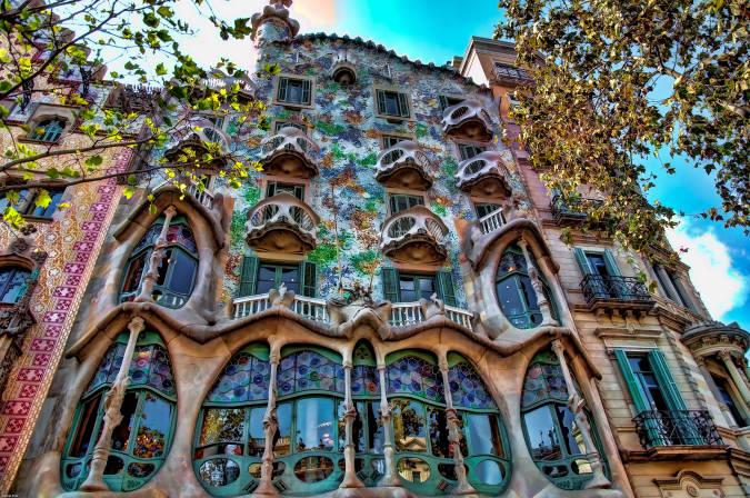 Casa Batlló, en el Eixample de Barcelona